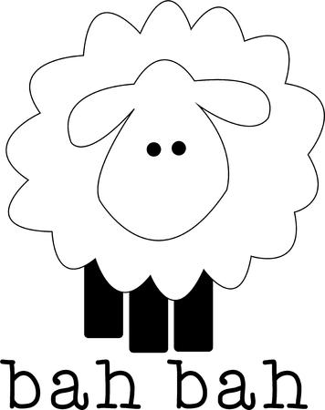 baby lamb: A little lamb is a classic baby design.