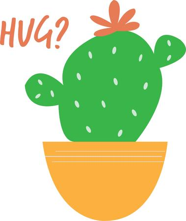 prickly: Put a little cactus in your garden.