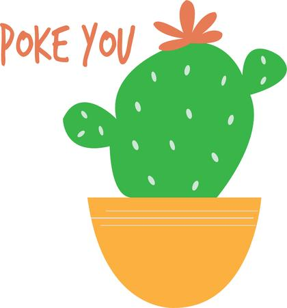 prickly pear: Put a little cactus in your garden.