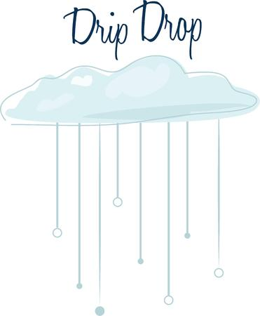 rains: Use this cloud scene for your rainy project.
