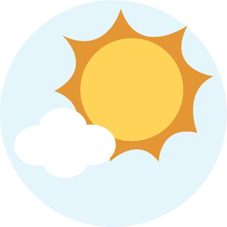 sol: Make your day bright and sunny with a pretty sun in the sky.