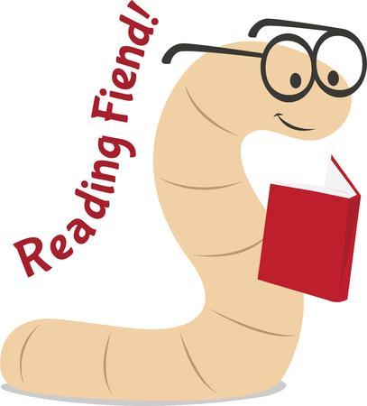 bücherwurm: Die Leser lieben dieses nette B�cherwurm.