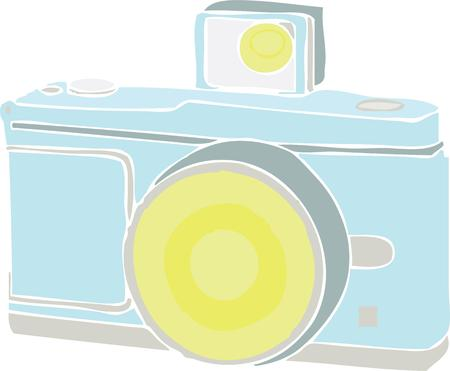 special moments: A camera is a great way to capture special moments. Illustration