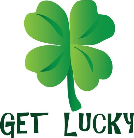 st paddy s day: A shamrock is a lucky Irish symbol to put on any project.