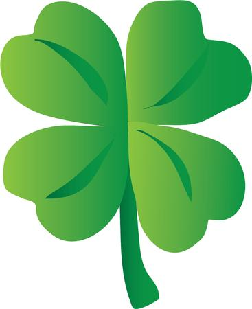 paddy: A shamrock is a lucky Irish symbol to put on any project.