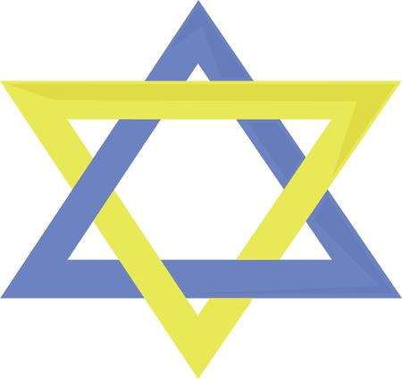 shield of david: Use this Star of David for your Hanukkah or Passover.