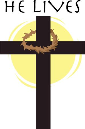 calvary: Make an Easter project with this elegant cross.