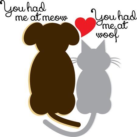 animal lover: Utilice este dise�o mascota para su amante de los animales.