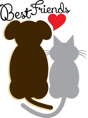 animal lover: Use this pet design for your animal lover. Illustration