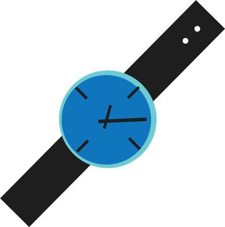 accessoire: Gebruik dit accessoire horloge voor uw tijd project.