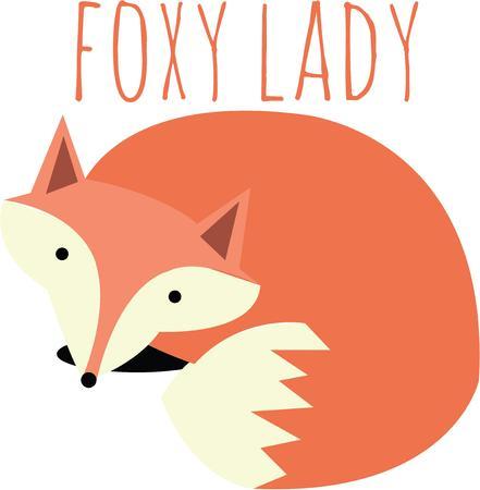 himself: The fox never found a better messenger than himself. Illustration