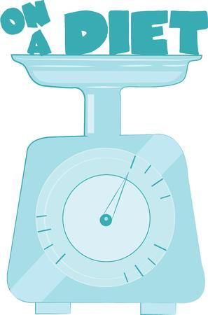 weighing scale: Use this weighing scale to maintain the perfect weight