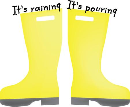 galoshes: Any little kid will enjoy these rain galoshes on their jacket.