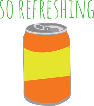 soda pop: Use this soda can for your teenage son.