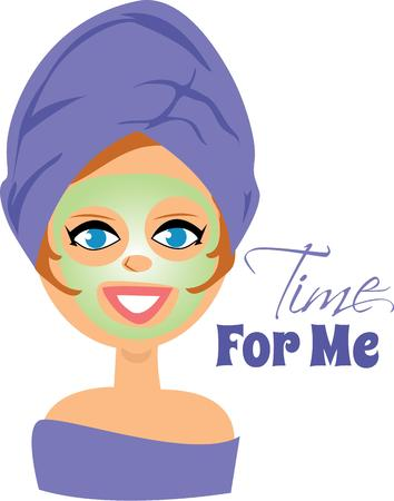 for: Use this lady for your cosmetologist. Illustration