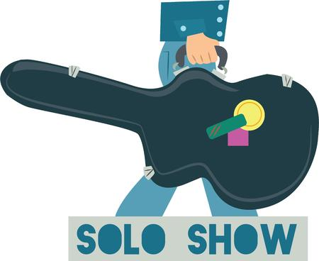 show case: play guitar to enjoy the music. Pick those design by Windmill