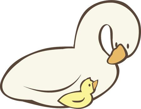 anything: The snow goose need not bathe to make itself white. Neither need you do anything but be yourself. Illustration