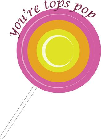 prepare: use this lollipop base design to prepare yummy candy