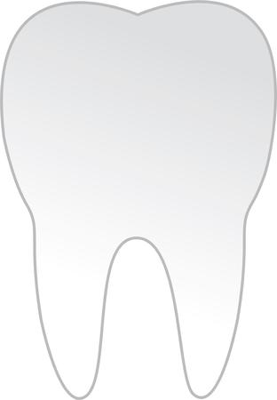hygienist: Use this tooth design for your favorite dentist.