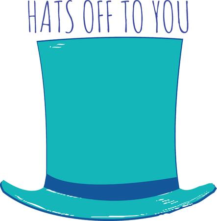 top hat: Use this top hat for an accomplished friend.