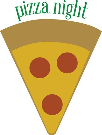 prepare: use this  design to prepare the delisious pizza Illustration