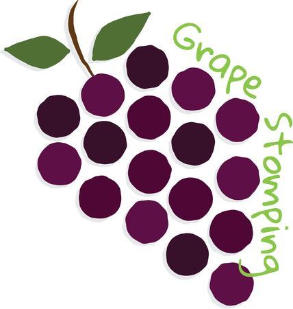 ivresse: La vigne porte trois types de raisins: le premier de plaisir la seconde d'intoxication du tiers de d�go�t. Illustration