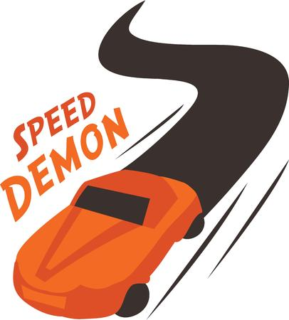 car speed: Car lovers gonna love this Speed demon to have in racing