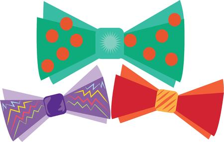 defiance: Wearing a bow tie is a statement. Almost an act of defiance. Illustration