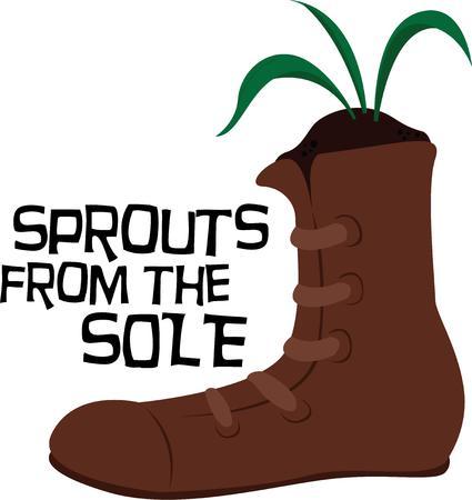 plante design: utiliser cette conception de l'usine de chaussures pour votre prochain projet
