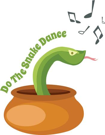 play music: Play music and make Sanke move and dance