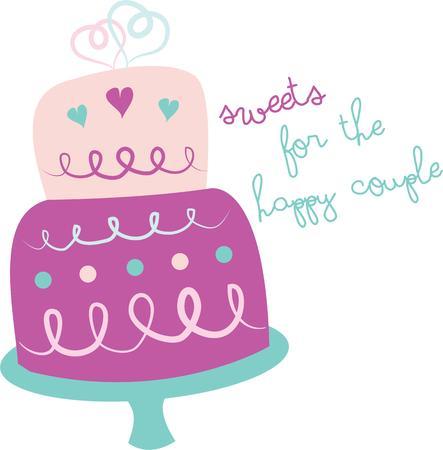 cake slice: Enjoy a slice of this sweet wedding cake
