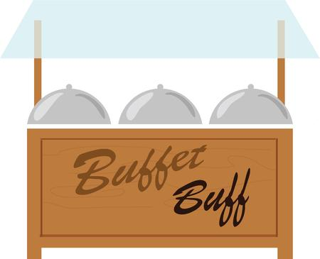 buff: This design is for Buffet lovers enjoy having various buffet themed designs on your projects