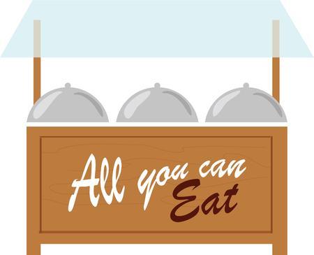 buff: Este dise�o es para los amantes Buffet disfrutar de tener varios dise�os de buffet tem�tico en sus proyectos
