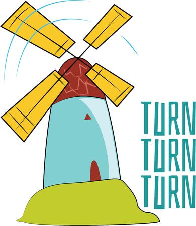 initiative: Support clean green renewable energy initiative with these beautiful windmill designs.