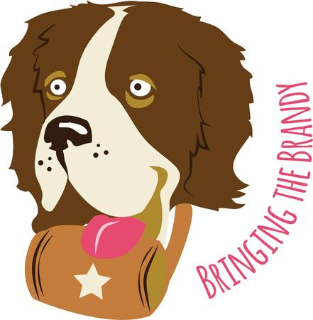 bestfriend: perfect gift for dog lovers Illustration