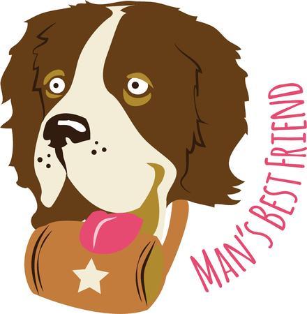 stronger: perfect gift for dog lovers Illustration