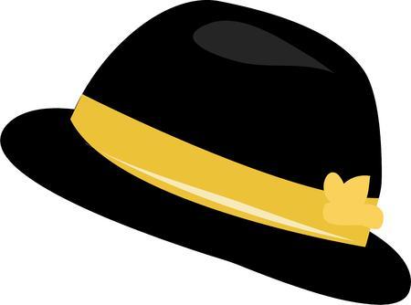bouliste: Utilisez ce chapeau melon pour votre projet de classe.