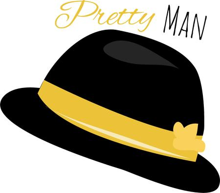 bowler hat: Use this bowler hat for your classy project.