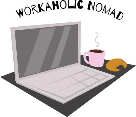 nomad: I write with a pen and paper. Never on a laptop. Illustration