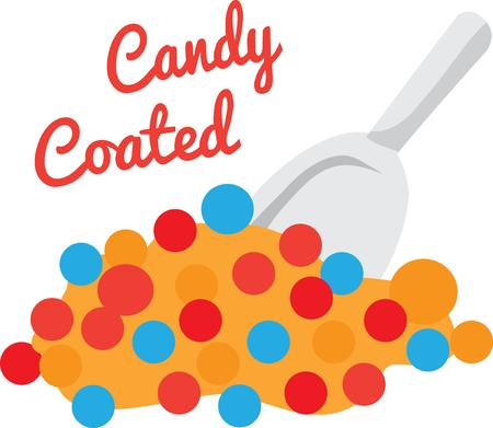 sweetness: Enjoy the sweetness of Candy. Add to a childs shirt.