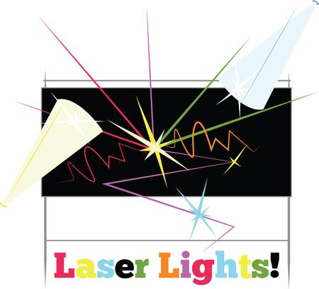 laser light: use to Laser light for an amazing show