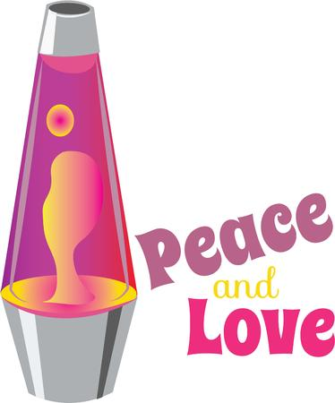 lava lamp: use this Lava Lamp Base for partys Illustration