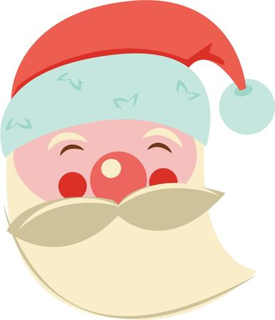 kris kringle: This design will make a wonderful Christmas decoration.
