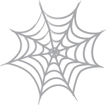 widow: Use a spider web to decorate for Halloween.