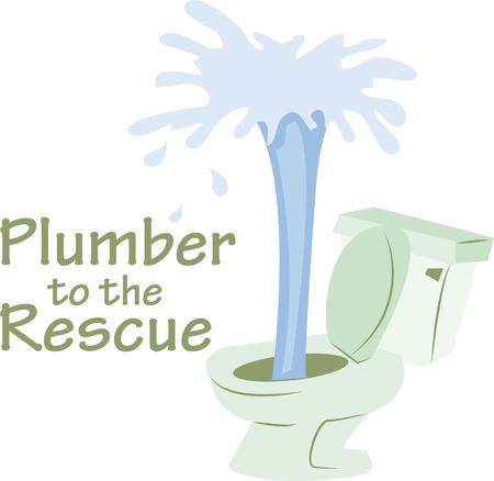 privy: Plumbers will like this as a business logo.