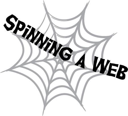 black widow: Use a spider web to decorate for Halloween.