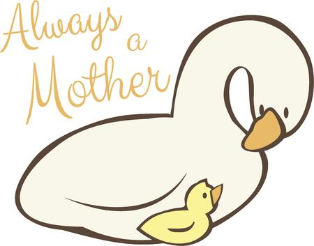 safeguard: Always love and safeguard your children like a Mother Goose.