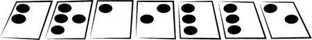 braille: Mostrar un afecto por el lenguaje de braille.