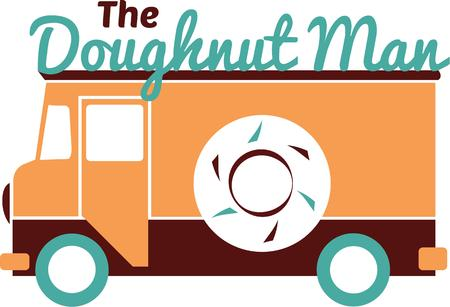 anyone: Anyone who loves doughnuts will like this truck.