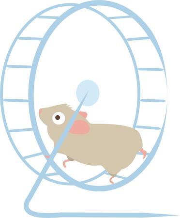 rat race: Anyone who is in the rat race will like this cute design.